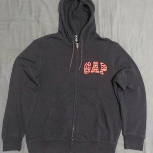 Men's Gap Americana Full Zip Hoodie Sweater